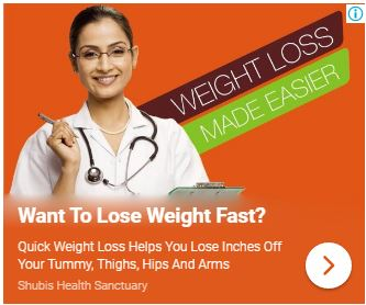 Shubi Husain Weight Loss