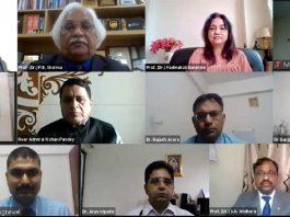 Webinar Amity University Haryana, AMIET-2020