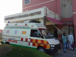 AMU JNMC Emergency Where Armyman was treated