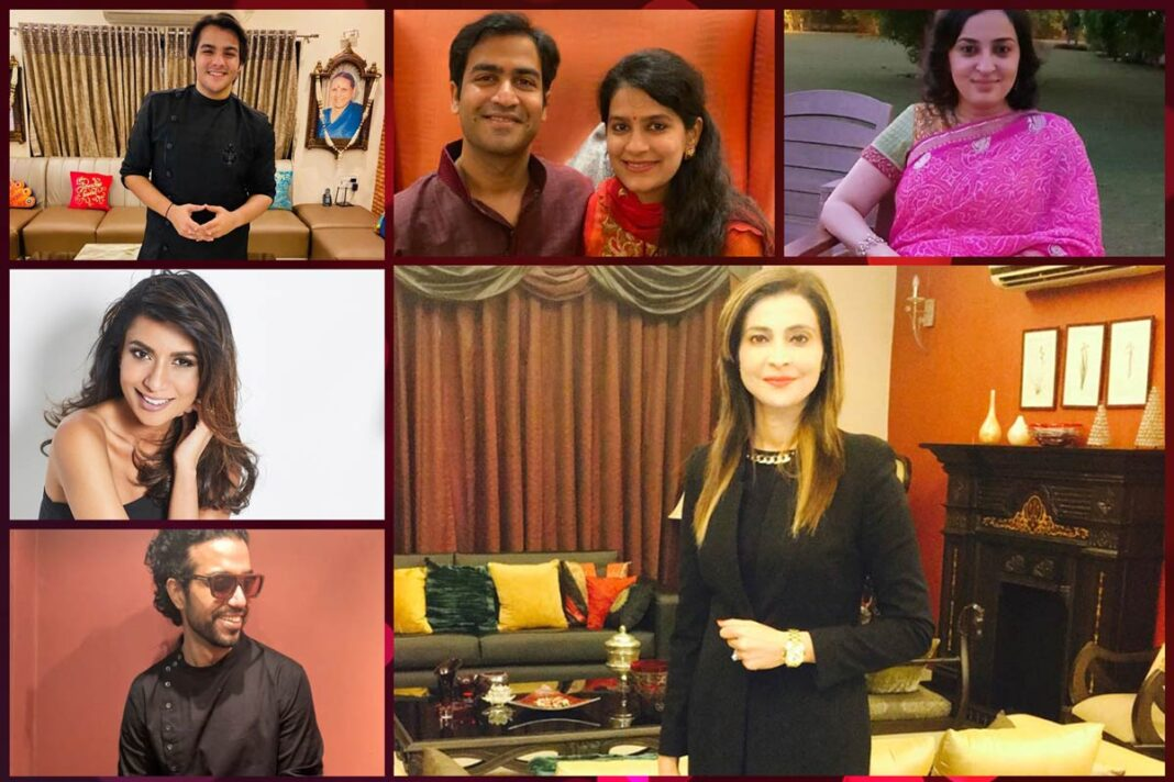 Celebrities and Influencers celebrating Diwali