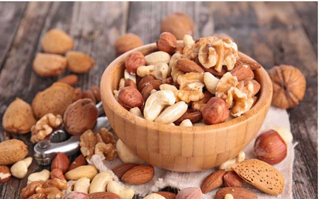 Nuts - Foods for Heart Patients and Foods to Eat in PCOS