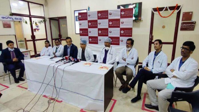 Rare Surgery by Doctors at AIO