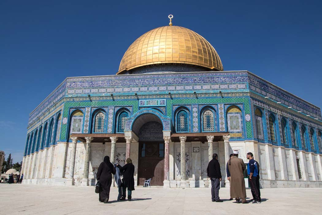 The Dome of the Rock, Israel Palestine Conflict