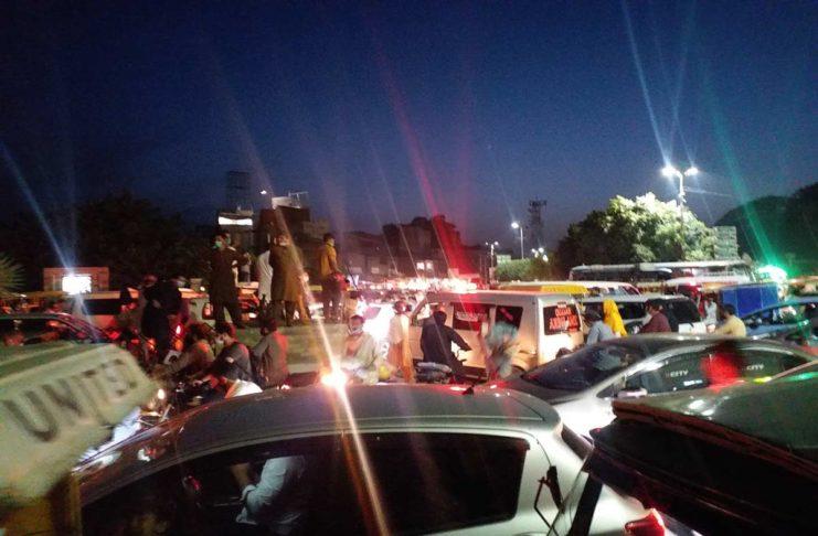 Road Blocks - Sialkot