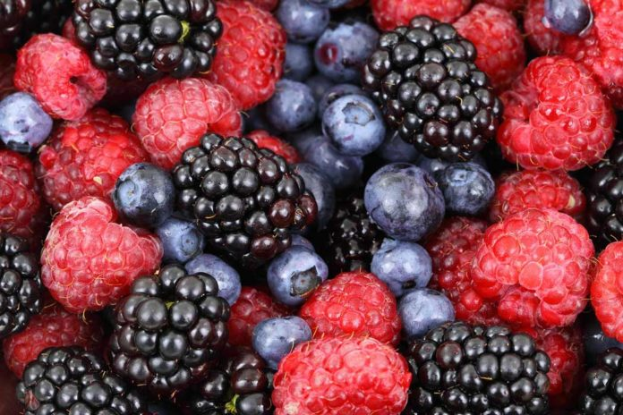 Foods To Reduce Stress - Berries