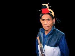 Apatani Tribal Man, India