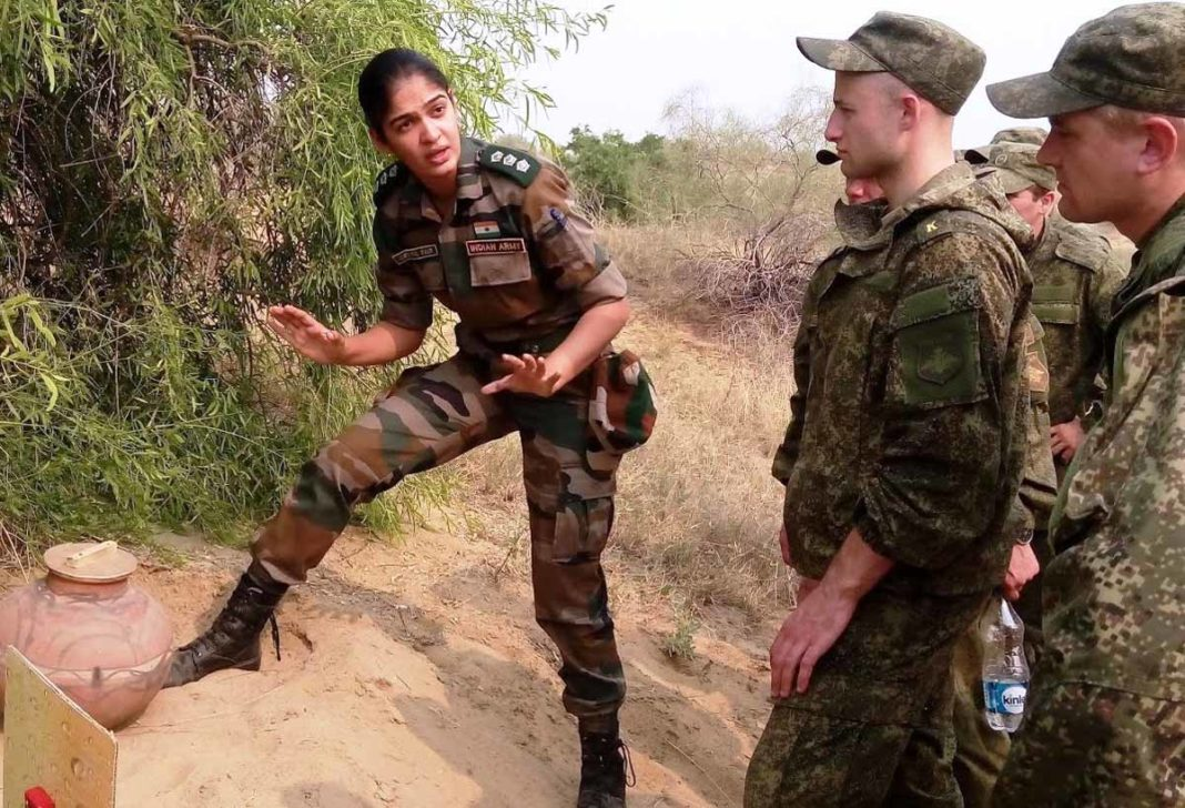 Woman Indian Army Officer