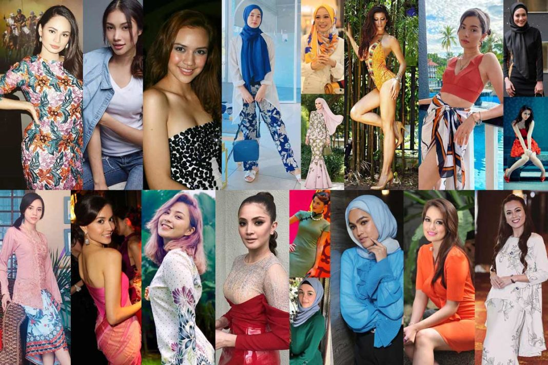 Most Beautiful and hottest Malaysian Actresses and Models