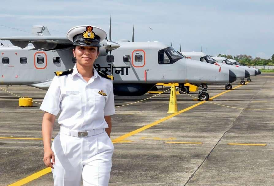 Shivangi, Indian Navy